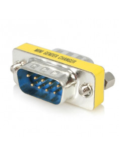 Avocent RJ-45F to DB-25M crossover adapter