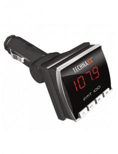 Technaxx FMT100 87.5 - 108 MHz Wired Black,Silver