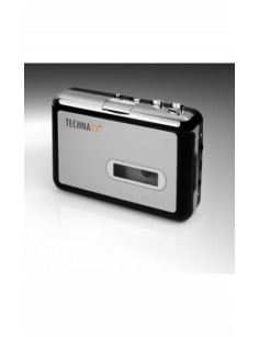 Technaxx DigiTape DT-01 audio converter Black,Silver