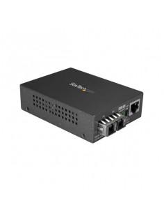 StarTech.com Multimode (MM) SC Fiber Media Converter for 10 100 1000 Network - 550m Range - Gigabit Ethernet - 850nm - Full