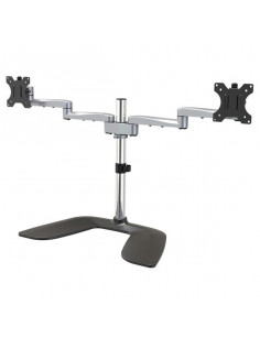 """StarTech.com Dual Monitor Stand - Ergonomic Desktop Monitor Stand for up to 32"""" VESA Displays - Free-Standing Articulating"""