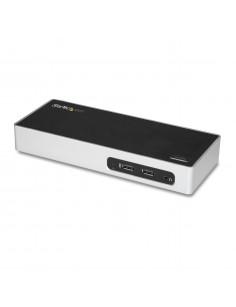 StarTech.com USB 3.0 Docking Station - Dual Monitor Laptop Docking Station with HDMI & DVI VGA Video - 6-port USB 3.1 Gen 1