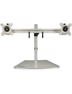 """StarTech.com Dual Monitor Stand - Ergonomic Free Standing Dual Monitor Desktop Stand for two 24"""" VESA Mount Displays -"""