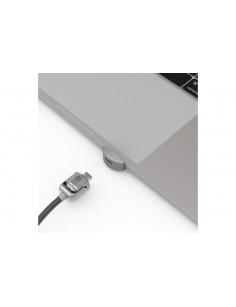 Compulocks UNVMBPRLDG01 cable lock Black,Stainless steel