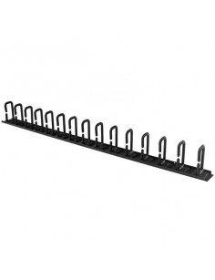 StarTech.com Vertical Cable Organizer with D-Ring Hooks - 0U - 3 ft.