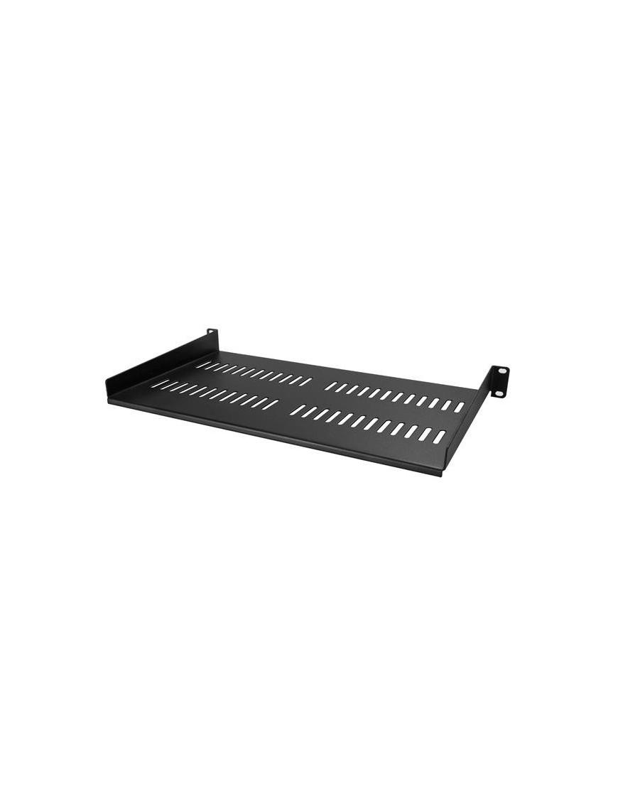 """StarTech.com 1U Vented Server Rack Cabinet Shelf - 10in Deep Fixed Cantilever Tray - Rackmount Shelf for 19"""" AV Data Network"""