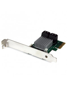 StarTech.com 4 Port PCI Express 2.0 SATA III 6Gbps RAID Controller Card with HyperDuo SSD Tiering