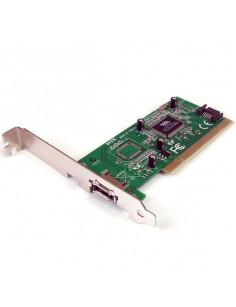 StarTech.com 1 Port eSATA + 1 Port SATA PCI SATA Controller Card w  LP Bracket
