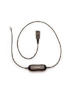 Jabra Cord for Alcatel, 500mm + 3.5m Black