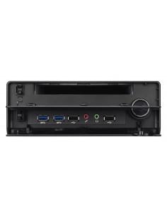 Shuttle XPС slim XH310RV PC workstation barebone Black Intel® H310 LGA 1151 (Socket H4)