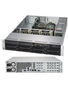 Supermicro SuperServer 5029P-WTR Intel C622 LGA 3647 Rack (2U) Black