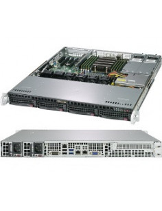 Supermicro A+ Server 1013S-MTR Socket SP3 Rack (1U) Black, Grey