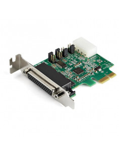 StarTech.com 4-port PCI Express RS232 Serial Adapter Card - PCIe RS232 Serial Host Controller Card - PCIe to Serial DB9 - 16950