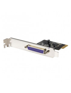 StarTech.com 1 Port PCI Express Dual Profile Parallel Adapter Card - SPP EPP ECP