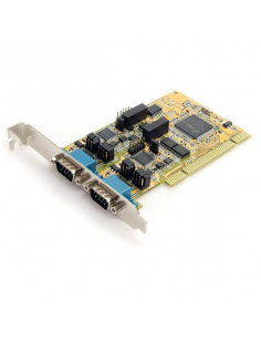 StarTech.com 2 Port RS232 422 485 PCI Serial Adapter Card w  ESD Protection