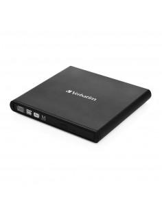 Verbatim Slimline CD DVD optical disc drive Black DVD-RW