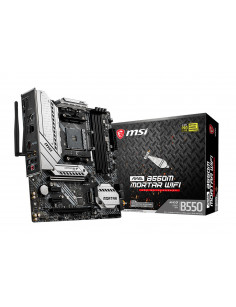 MSI MAG B550M Mortar Wifi Socket AM4 micro ATX AMD B550