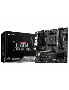 MSI B550M PRO-VDH WIFI Socket AM4 micro ATX AMD B550