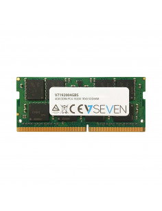 V7 4GB DDR4 PC4-19200 - 2400MHz SO-DIMM Notebook Memory Module - V7192004GBS