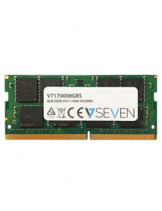 V7 8GB DDR4 PC4-17000 - 2133Mhz SO DIMM Notebook Memory Module - V7170008GBS
