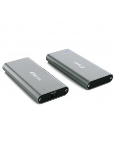 Fantec NVMe31 M.2 SSD enclosure Grey