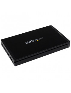"StarTech.com USB-C Hard Drive Enclosure for 2.5"" SATA SSD   HDD - USB 3.1 10Gbps - for S251BU31REM"
