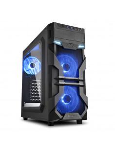 Sharkoon VG7-W Blue Midi Tower Black