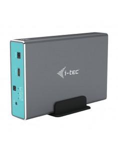 "i-tec MySafe USB-C 3.1 Gen. 2   USB 3.0, External case for 2x 2,5"" SATA HDD SSD, RAID 0 1 JBOD Support"