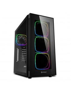 Sharkoon TG6 RGB Midi Tower Black
