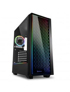 Sharkoon RGB LIT 200 Midi Tower Black