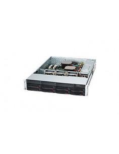 Supermicro SC825TQC-600LPB Rack Black 600 W