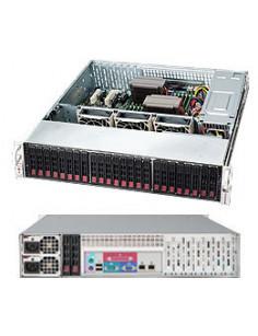 Supermicro CSE-216BE1C-R920LPB server barebone Rack (2U) Silver