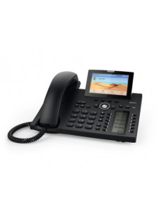 Snom D385 IP phone Black Wired handset TFT 12 lines