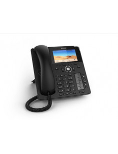Snom D785 IP phone Black Wired handset TFT 12 lines