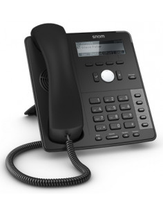 Snom D715 IP phone Black Wired handset 12 lines