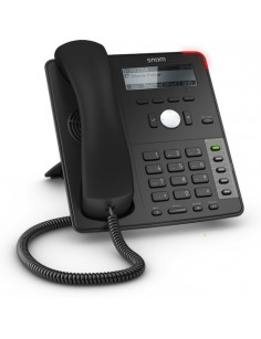 Snom D712 IP phone Black Wired handset 4 lines