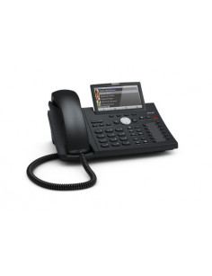 Snom D375 IP phone Black Wired handset TFT 12 lines