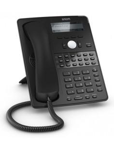 Snom D725 IP phone Black Wired handset 12 lines