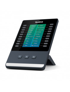 Yealink EXP50 IP add-on module Black, Grey 23 buttons