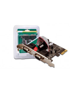 Digitus 2 x DB9 M interface cards adapter Serial Internal