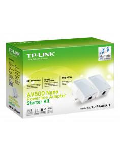 TP-LINK PA411KIT 500 Mbit s Ethernet LAN White 2 pc(s)