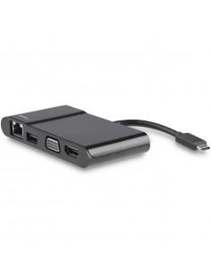 StarTech.com USB-C Multiport Adapter - USB-C Travel Dock with 4K HDMI or 1080p VGA - Gigabit Ethernet, 5Gbps USB-A 3.0 - USB-C