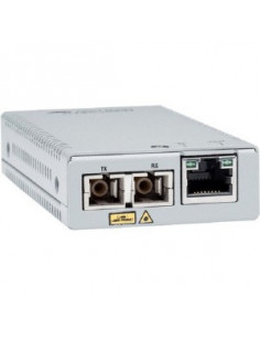 Allied Telesis AT-MMC2000 SC-960 network media converter 1000 Mbit s 850 nm Multi-mode Grey