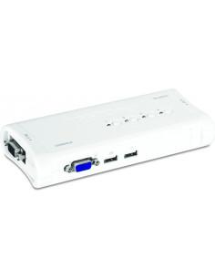 Trendnet TK-407K KVM switch Blue