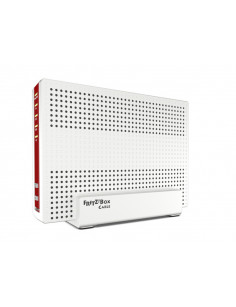 AVM FRITZ!Box 6591 Cable Int. for Luxembourg wireless router Dual-band (2.4 GHz   5 GHz) Gigabit Ethernet Red, White