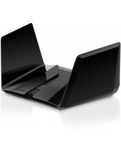 Netgear RAX200 wireless router Tri-band (2.4 GHz   5 GHz   5 GHz) Gigabit Ethernet Black