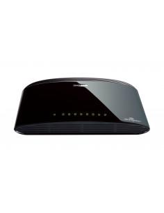 D-Link DES-1008D Unmanaged Fast Ethernet (10 100) Black