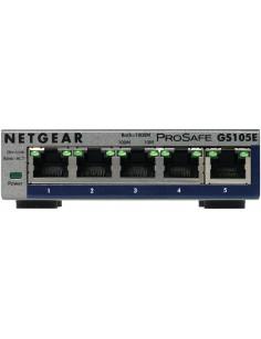 Netgear GS105E-200PES network switch Managed L2 L3 Gigabit Ethernet (10 100 1000) Grey