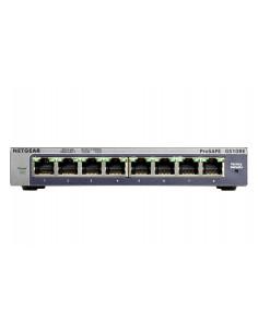 Netgear GS108E Gigabit Ethernet (10 100 1000) Black