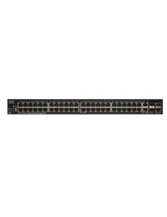 Cisco SG350X-48P Managed L3 Gigabit Ethernet (10 100 1000) Black 1U Power over Ethernet (PoE)